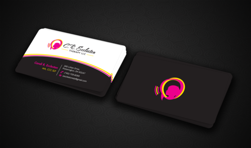 C.R. Eccleston Therapy LLC Business Cards and Stationery  Draft # 135 by einsanimation