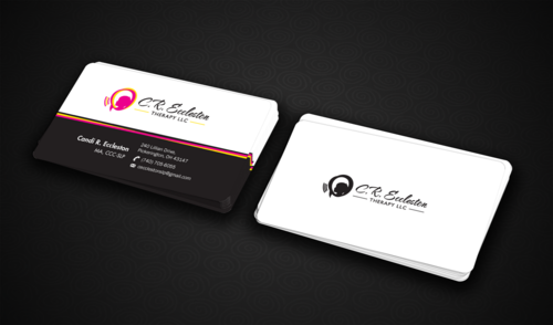 C.R. Eccleston Therapy LLC Business Cards and Stationery  Draft # 188 by einsanimation