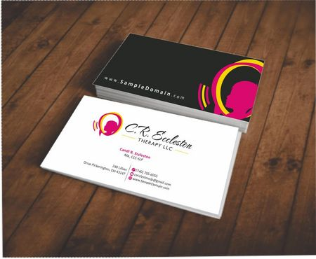 C.R. Eccleston Therapy LLC Business Cards and Stationery  Draft # 191 by Deck86