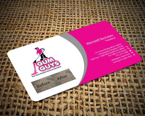 Gum Guys Business Cards and Stationery  Draft # 228 by jpgart92