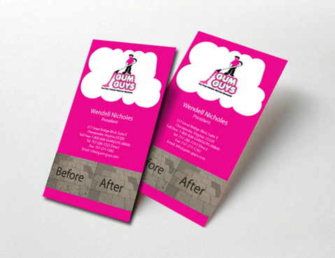 Gum Guys Business Cards and Stationery  Draft # 232 by jpgart92