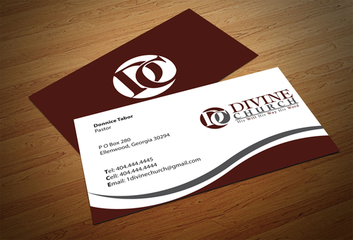 Divine Church Business Cards and Stationery  Draft # 144 by jpgart92