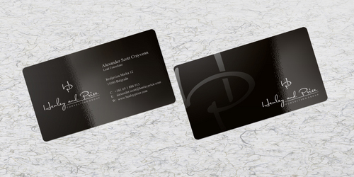 Henley & Price Business Cards and Stationery  Draft # 1 by sevensky