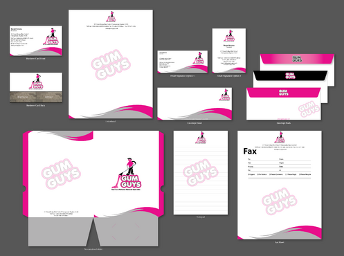Gum Guys Business Cards and Stationery  Draft # 254 by jpgart92