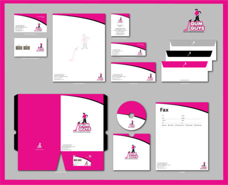 Gum Guys Business Cards and Stationery  Draft # 264 by jpgart92