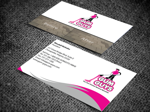 Gum Guys Business Cards and Stationery  Draft # 266 by jpgart92