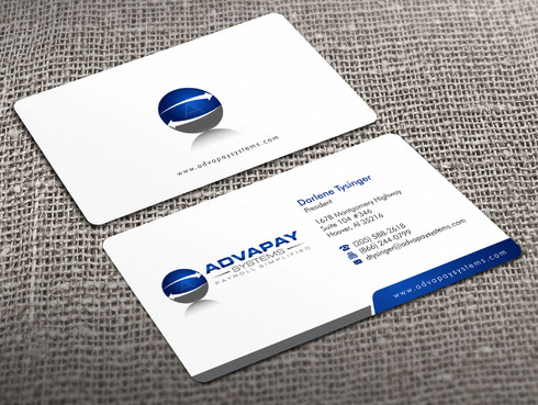 AdvaPay Systems Business Cards and Stationery  Draft # 17 by Xpert