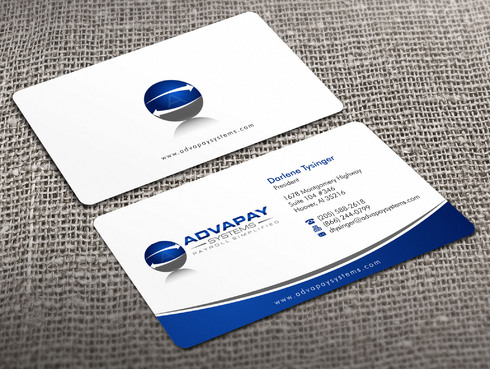 AdvaPay Systems Business Cards and Stationery  Draft # 18 by Xpert