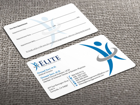 Elite Weight Management MD Business Cards and Stationery  Draft # 243 by Xpert