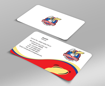 Srisun Prata.Com Food Holding's pte ltd Business Cards and Stationery  Draft # 222 by jpgart92