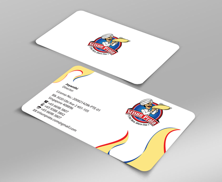 Srisun Prata.Com Food Holding's pte ltd Business Cards and Stationery  Draft # 221 by jpgart92