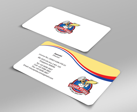 Srisun Prata.Com Food Holding's pte ltd Business Cards and Stationery  Draft # 223 by jpgart92