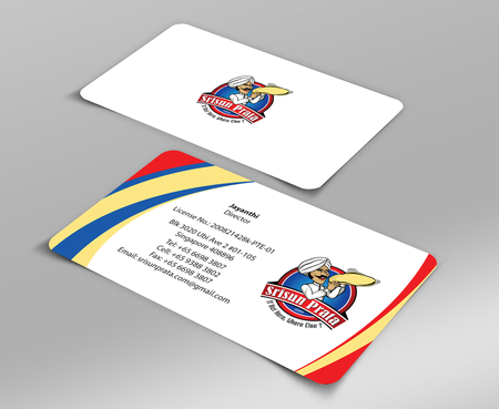 Srisun Prata.Com Food Holding's pte ltd Business Cards and Stationery  Draft # 224 by jpgart92