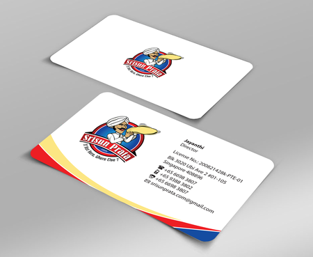 Srisun Prata.Com Food Holding's pte ltd Business Cards and Stationery  Draft # 225 by jpgart92