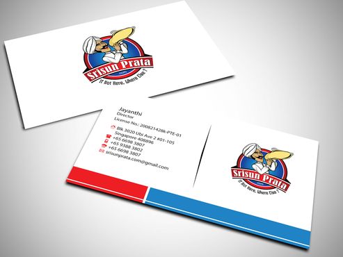 Srisun Prata.Com Food Holding's pte ltd Business Cards and Stationery  Draft # 226 by jpgart92