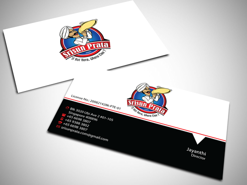 Srisun Prata.Com Food Holding's pte ltd Business Cards and Stationery  Draft # 228 by jpgart92