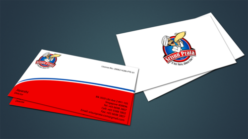 Srisun Prata.Com Food Holding's pte ltd Business Cards and Stationery  Draft # 230 by jpgart92