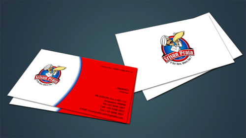 Srisun Prata.Com Food Holding's pte ltd Business Cards and Stationery  Draft # 231 by jpgart92