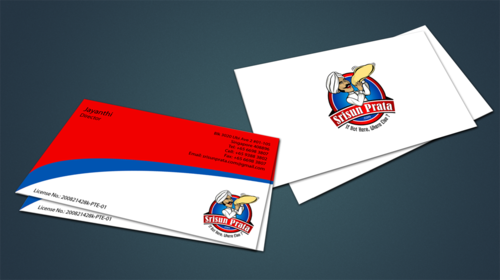 Srisun Prata.Com Food Holding's pte ltd Business Cards and Stationery  Draft # 232 by jpgart92