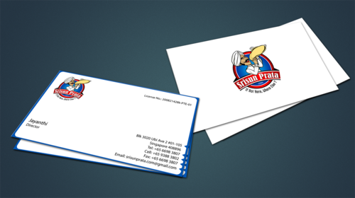 Srisun Prata.Com Food Holding's pte ltd Business Cards and Stationery  Draft # 233 by jpgart92