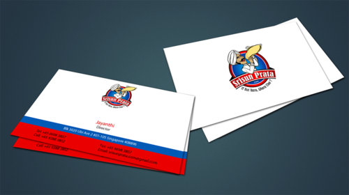 Srisun Prata.Com Food Holding's pte ltd Business Cards and Stationery  Draft # 234 by jpgart92