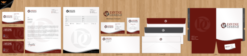 Divine Church Business Cards and Stationery  Draft # 188 by einsanimation
