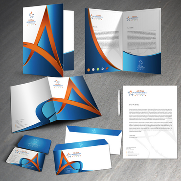 All Star Orthodontics Business Cards and Stationery  Draft # 377 by twenty2