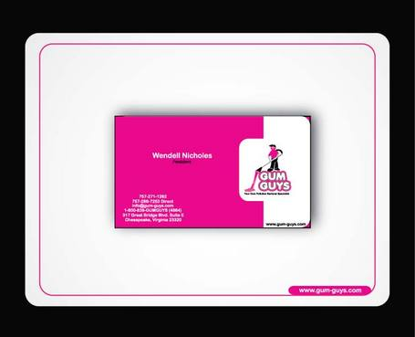 Gum Guys Business Cards and Stationery  Draft # 297 by uroosa