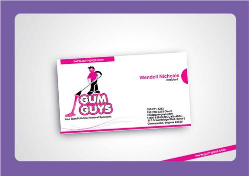 Gum Guys Business Cards and Stationery  Draft # 299 by uroosa
