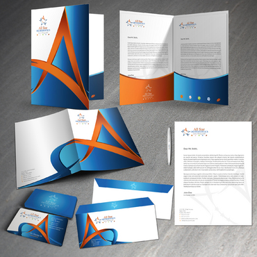 All Star Orthodontics Business Cards and Stationery  Draft # 378 by twenty2