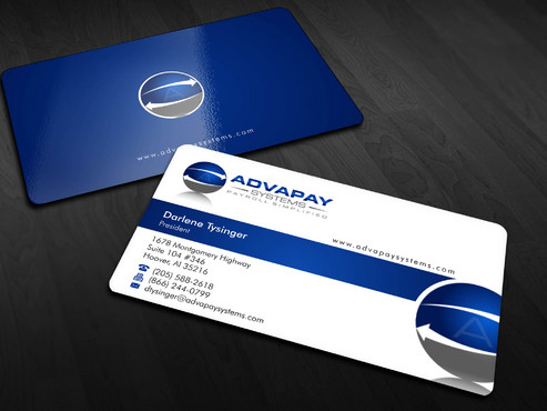 AdvaPay Systems Business Cards and Stationery  Draft # 171 by Xpert