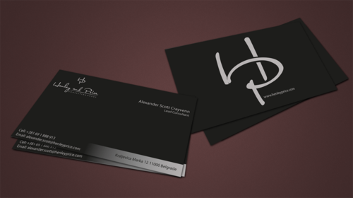 Henley & Price Business Cards and Stationery  Draft # 86 by jpgart92