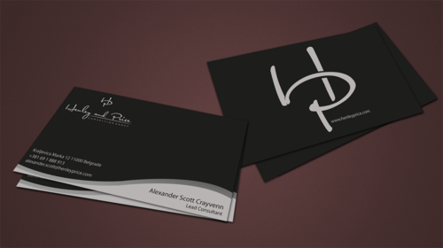 Henley & Price Business Cards and Stationery  Draft # 90 by jpgart92