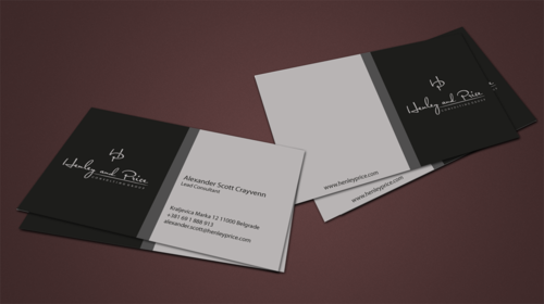 Henley & Price Business Cards and Stationery  Draft # 92 by jpgart92