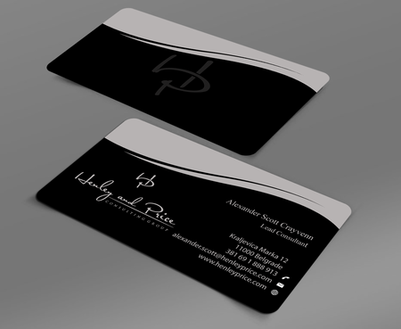 Henley & Price Business Cards and Stationery  Draft # 101 by jpgart92