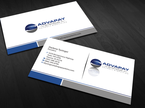 AdvaPay Systems Business Cards and Stationery  Draft # 179 by jpgart92