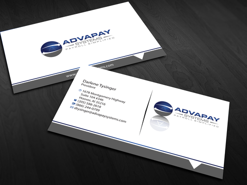 AdvaPay Systems Business Cards and Stationery  Draft # 180 by jpgart92