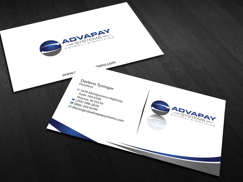 AdvaPay Systems Business Cards and Stationery  Draft # 184 by jpgart92