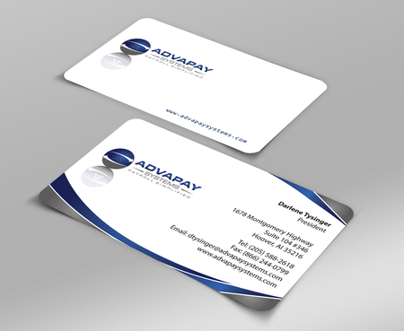 AdvaPay Systems Business Cards and Stationery  Draft # 198 by jpgart92