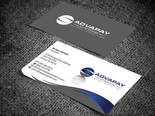 AdvaPay Systems Business Cards and Stationery  Draft # 201 by jpgart92