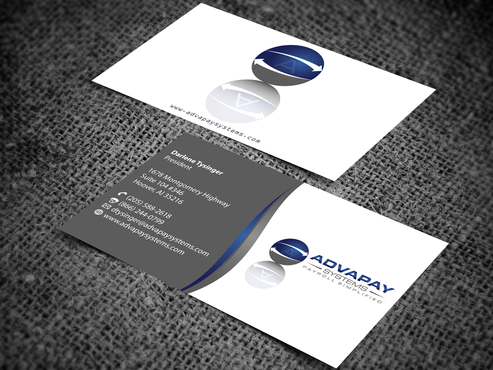 AdvaPay Systems Business Cards and Stationery  Draft # 202 by jpgart92