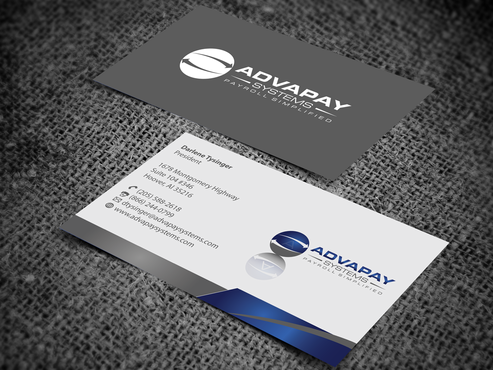 AdvaPay Systems Business Cards and Stationery  Draft # 203 by jpgart92