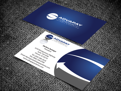 AdvaPay Systems Business Cards and Stationery  Draft # 204 by jpgart92