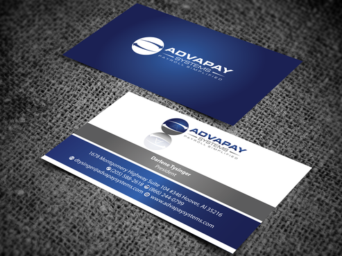 AdvaPay Systems Business Cards and Stationery  Draft # 206 by jpgart92