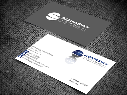 AdvaPay Systems Business Cards and Stationery  Draft # 207 by jpgart92