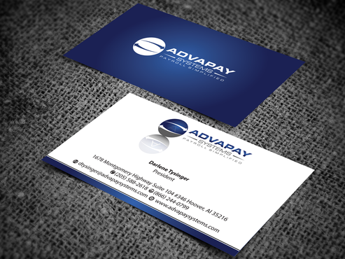 AdvaPay Systems Business Cards and Stationery  Draft # 208 by jpgart92