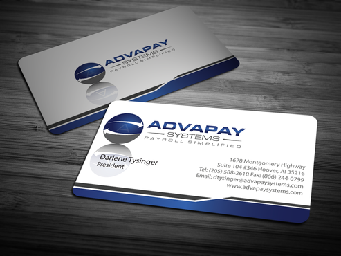 AdvaPay Systems Business Cards and Stationery  Draft # 209 by jpgart92