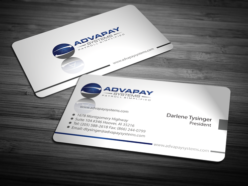 AdvaPay Systems Business Cards and Stationery  Draft # 210 by jpgart92