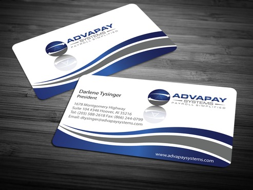 AdvaPay Systems Business Cards and Stationery  Draft # 211 by jpgart92