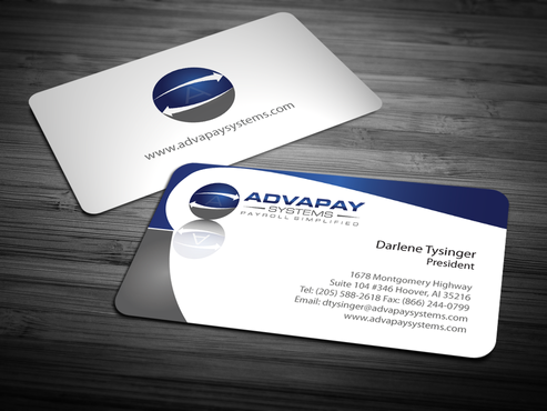 AdvaPay Systems Business Cards and Stationery  Draft # 212 by jpgart92